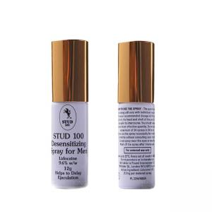 China Gold Top Stud 100 Male Desensitizing Spray for Men Help to Delay Ejaculation on sale