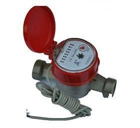 China Single Jet Brass remote reading Water Meter on sale