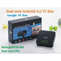 Newest Hot Sell Dual-Core Android TV Box Mx Smart Google Xbmc Aroidbox G-Box Midnight TV
