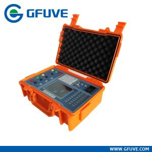 China 120A 600V 0.02% Three Phase Portable Multifunction Energy Meter Test Device at work site on sale