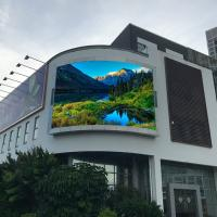 China High Brightness Advertising Display Screens, 960*960mm Outdoor LED Wall For Video on sale