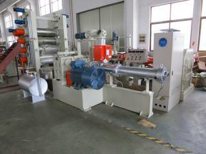 China Ningún OEM/ODM de la anchura de la máquina720m m de la fabricación de la hoja del Pvc del veneno disponible on sale