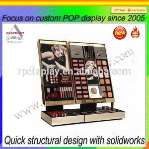 China POP retail store acrylic countertop makeup display stand on sale