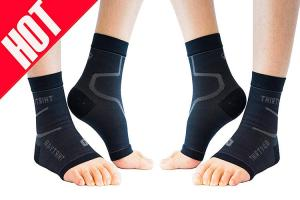 China Plantar Fasciitis Compression Socks , 20 - 30 Mm Height Ankle Support Sleeve Relieve Arch Pain on sale