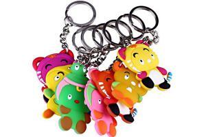 China 3D Soft Pvc Keychain Rubber Keyring Keychain Custom Key Chain PVC Rubber Keychain on sale