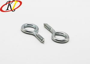China Silver Color Stainless Steel Eye Lag Screw / Lag Screw Eye Bolt For Wood on sale
