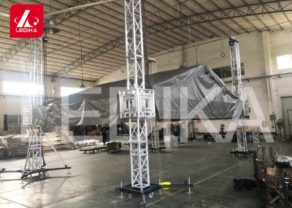 OEM Stage Roof Truss , Structure Roof Frame PVC Tent