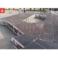 Four - column Height Adjustable Aluminum Stage Platform with Logo Custom