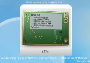 China Qisda Benq Module M23AG With Sim Toolkit TriBand GPS GSM Module on sale
