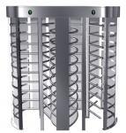 Interior torniquete de altura completa dirección unidireccional con tubo de acero inoxidable para la estación de autobuses