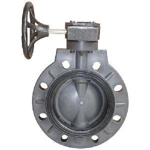 China Worm actuated valve-eccentric flanged butterfly type on sale