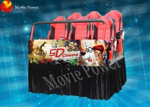 China Entertainment hydraulic system 5d 7D movie theater 12 months guarantee on sale