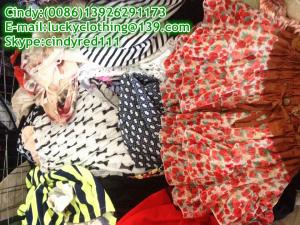 China 2014 cheapest high quality summer mix wholesale used clothing in bales for tropical area on sale