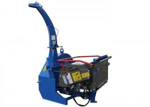 China PTO Drive 7 Inch Wood Chipper High Performance With Hydraulic Oil Tank on sale