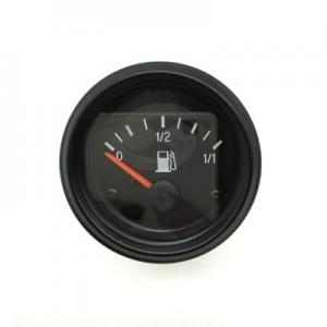 China 12V 24V VDO type Car fuel gauge and Truck Fuel Gauge with double color backlight on sale
