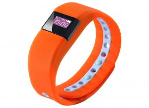 China Android & IOS Bluetooth Wrist Smart Bracelet Support BLE 4.0 And Above on sale