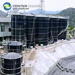 China Smooth Water Bolted Steel Tanks For Wastewater Treatment Project on sale