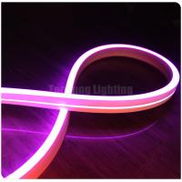 11x19mm Mini led Flex neon 12V with colorful Pink for bridge architecture swimming pool light building room
