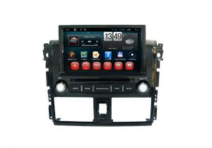 China Toyota Yaris Double Din Multimedia Gps Navigation For Cars CE FCC on sale
