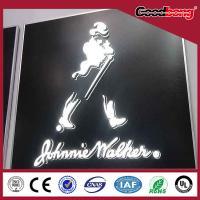 Acrylic thin vacuum hotsale light high quality custom vivid alphabet letter