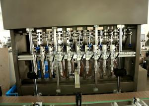China Automated Pneumatic Filling Machine Beer Bottle Filling Equipment on sale