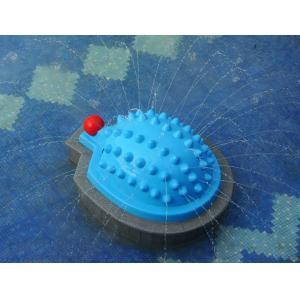 China Water Playground Equipment,Fiberglass Hedgehog Spray Aqua Play Game on sale