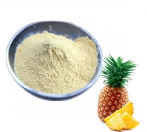 China High Security Bromelain Food Additives Sweeteners Raw Material Thermal Stable on sale