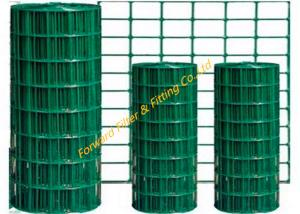 China Green PVC Welded Wire Mesh Concrete Reinforced Steel Bar Welded Mesh Fence on sale