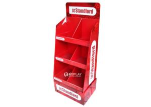 China Stationery Corrugated Cardboard Display Stands on sale