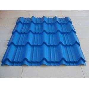 China 注文のGI色波形の上塗を施してあるシートの前に塗られた電流を通された鋼板 on sale