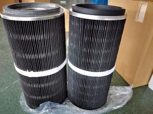 China BHA Air Cleaner Cartridge 1567804 Anti Static And Flame Retardant Filter Media wholesale