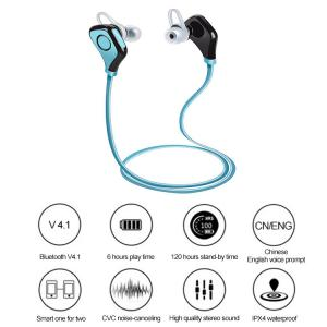 China Best Bluetooth V4.1 Wireless Earbuds with Mic In Ear Bluetooth Headset Wireless Headphones on sale
