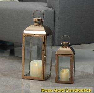 China European Wooden Lights Candlestick Crafts Candle Stand Lantern with Plastic Candle Light for Home Decoration on sale
