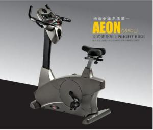 China Upright Indoor Sit Down Exercise Bike Commercial With Fan Function on sale