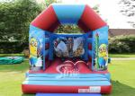 Outdoor Kids Inflatable Bouncing Castle Minion?Bounce House , 0.55mm PVC Tarpaulin