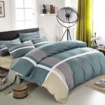 反応印刷された綿のタケ寝具はクイーン サイズのカスタマイズされた色を置きます