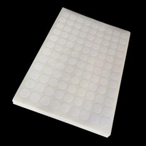 China Custom Durable White Blank Sheet Sticker Labels From China Printer on sale
