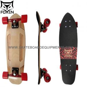 China cruiser boards 27.75*7.75 abec 7 bearing os780 grip tape 5 small seagull trucks shr wheel canadian maple  skateboards on sale