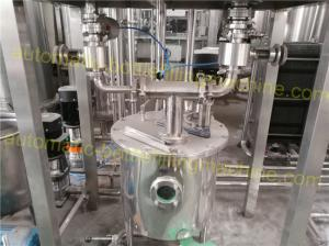 China CO2 / N2 Syrup Automatic Drink Mixing Machine 2T - 10T/H Capacity For Beer on sale