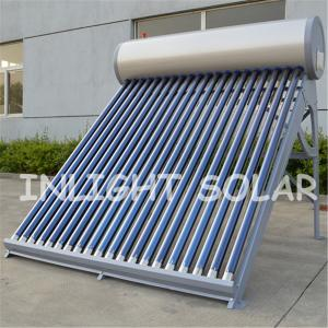 China 150L Thermosyphon Vacuum Tube Solar Water Heater High Efficiency Heating Water on sale