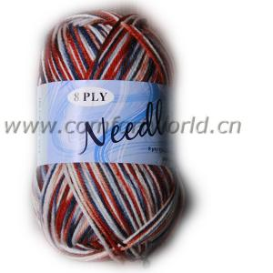 China Kids Colorful Acrylic Wool Yarn Soft Hand Made For DIY Knitting on sale
