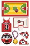 A etiqueta personalizada do abanador para o basquetebol da impressão deslocada das crianças ostenta