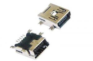 China 0.8mm Pitch Single Row Equal Molex Mini USB Connector 5 Pole For Copier A Type on sale