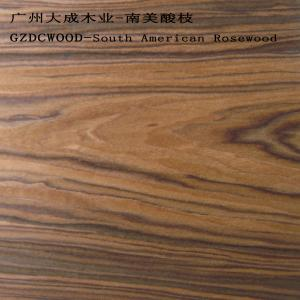 China 2X8' size China Guangzhou finwood manufacture artifical wood veneer South America Rosewood on sale