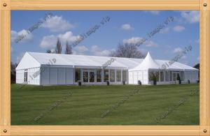 China 20x30m A shape White Aluminum Outdoor  Wedding Tent Party Tents with ABS walls on sale