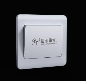 China Hotel Recognition Sensor Card Power Timer Delay Light Switch Fire resistant on sale