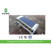China PV Solar Powered Electric Car Deployed 350 KW Flexible Solar Panel ECO Friendly on sale