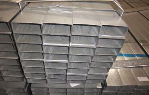 China Rectangular Hot Dipped Galvanized Steel Pipe on sale