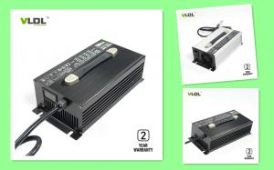 China Portable 25 Amps 48 Volt Battery Charger With Aluminum Housing on sale