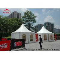 Lightweight 4m Pagoda Pagoda Party Tent Hard Pressed Extruded Aluminum Alloy T6061 / T6